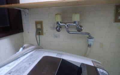 洗濯機用蛇口 東京都多摩