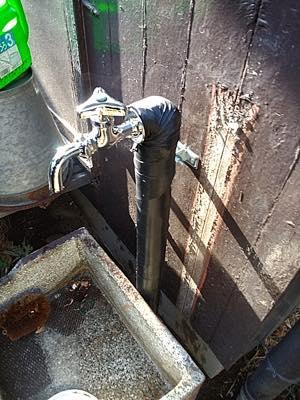 給水管 東京都多:施工後写真