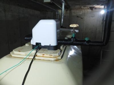 ポンプ・貯水槽・受水槽 東京都多摩:施工後写真
