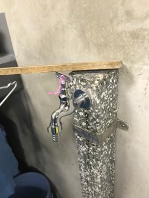 水栓柱・立水栓・散水栓 東京都江戸川:施工後写真