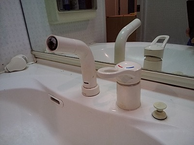 洗面台蛇口 東京都江戸川