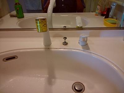 洗面台蛇口 東京都練馬:施工後写真